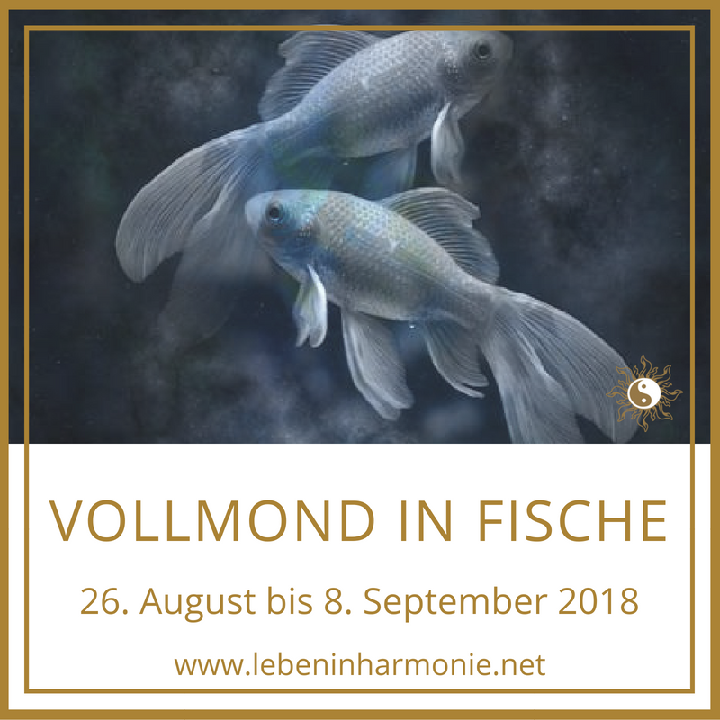 Vollmond in Fische am 26. August 2018