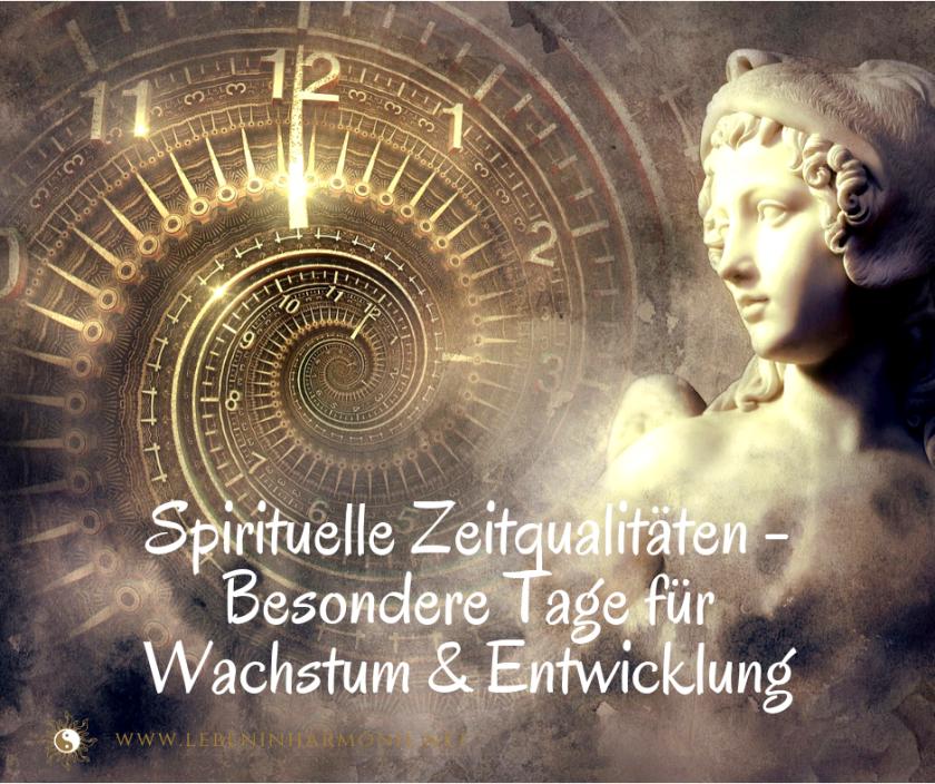 spirituelle zeitqualitäten claudia bäumer www.lebeninharmonie.net