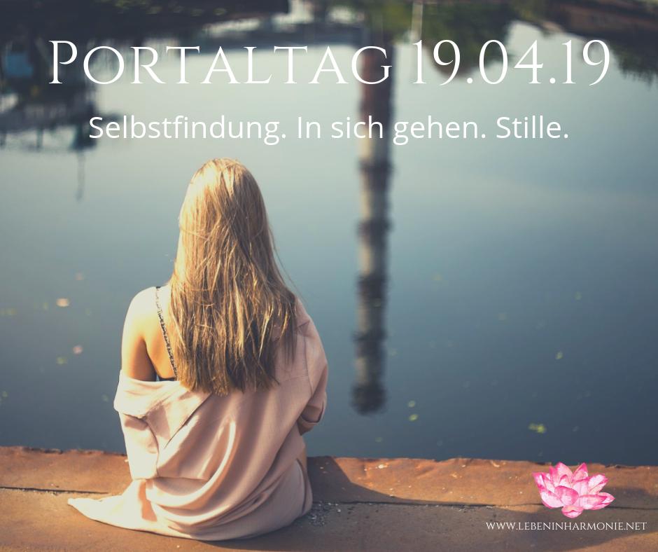 portaltag 19.04.19 www.lebeninharmonie.net