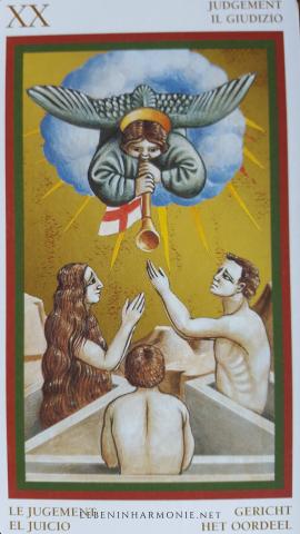 Tarot Karte das Gericht - Spirituelle Monatsimpulse