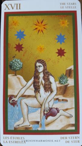 Tarot Karte Stern - Spirituelle Monatsimpulse